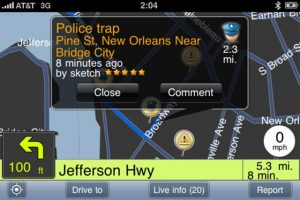 Apps for the Convenience of Drivers-Waze App